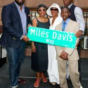 Miles Davis Way Dedicated in NYC