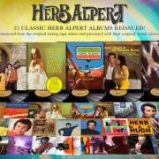 Herb Alpert Catalog to Be Remastered, Reissued Worldwide