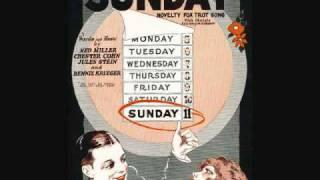 Jean Goldkette And His Orchestra - Sunday (1926)