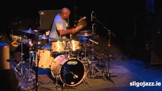 Derico Watson with Mike Stern Victor Wooten Band Sligo Jazz 2013