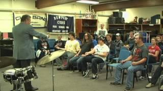 Jazz at Newport 2011 - Education with Jeff Hamilton