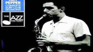 Art Pepper Quartet 1952 ~ How High The Moon