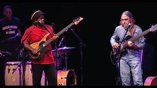 Victor Wooten, Steve Bailey, J.D. Blair, and Derico Watson in Concert