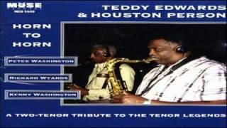 Teddy Edwards - Houston Person 1994 ~ That's All