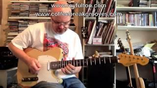 Roy Fulton - Smooth Jazz guitar solo with a CBG backing track