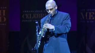 Power To End Stroke - Saxophonist Alfonzo Blackwell