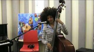 "Esperanza Spalding Performs ""Look No Further"" Live in KPLU Studios"