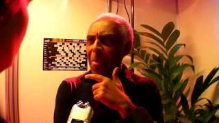 Gilberto Gil interview - North Sea Jazz 2010
