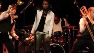Lakecia Benjamin live at (Le) Poisson Rouge, NY