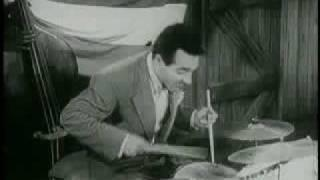 "Big Sid Catlett&Gene Krupa in ""Boy, What a Girl"""