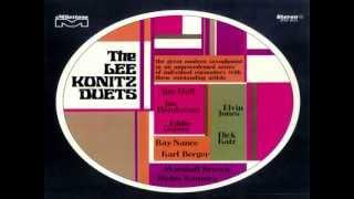 Lee Konitz - Variations on ALONE TOGETHER