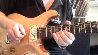 Blues Guitar lesson | Roy Fulton with Coffee Break Grooves