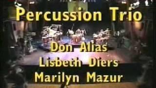 Don Alias Percussion Trio - Jazz Baltica 1999