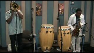 """Donald Harrison and Glen David Andrews""""When The Saints Go Marching In""""  Live at KPLU"""
