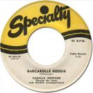 Camille Howard - Barcarolle Boogie [Specialty 449] 1952