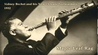 Sidney Bechet And His New Orleans Feetwarmers - Maple Leaf Rag (1932)