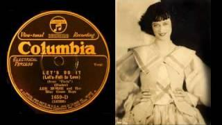 """Lee Morse and Her Blue Grass Boys """"LET'S DO IT"""" (1928)"""