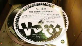 The Sheik Of Araby - Hot Lips Page And The V-Disc All Stars