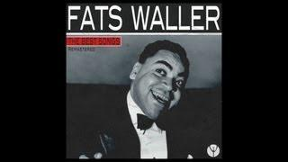 Fats Waller And His Buddies - When I'm Alone
