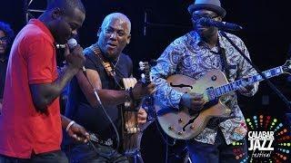Jonathan Butler and Jimmy Dludlu performing at Calabar international Jazz Festival 2013