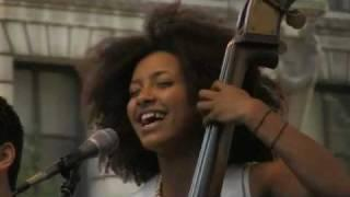"Esperanza Spalding ""I Adore You"" at J&R's MusicFest 2008"