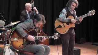 Howard Alden with Trefor Owen&Andy Hulme @ The 21st North Wales International Jazz Guitar Weekend