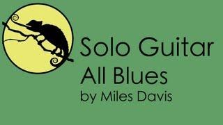 Solo Guitar Lesson • All Blues