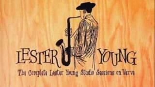 Lester Young - Oscar Peterson Trio 1952 ~ Ad-Lib Blues