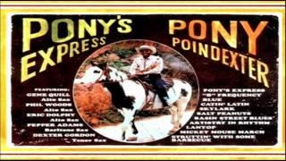 Pony Poindexter Nonet 1962 ~ Mickey Mouse March