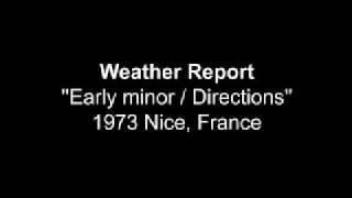 Weather Report 1973 Nice France
