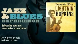 Lightnin' Hopkins - New York Boogie