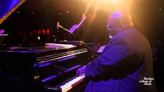 "Cyrus Chestnut's Berklee Sextet performs ""Solace"" live at Dizzy's Club Coca Cola, NY"