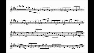 Chris Potter's Tune-Up Transcription