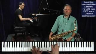 """Jazz Improvisation Tips"" Jerry Bergonzi Amazing Out-on-Purpose Saxophone Solo How to Improvise Jazz"