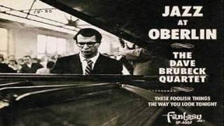 Dave Brubeck Quartet Live At Oberlin College 1953 ~ How High The Moon