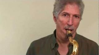 Bob Mintzer's Lesson - Sound of the Saxophone