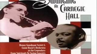 Charlie Christian w/ Lester Young - Kansas City Six 1939 ~ Way Down Yonder In New Orleans