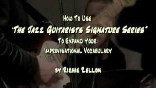 "How to use the Jazz Guitarists Signature Series Part 2 | ""Transcribing"" vs ""Writing"" Solos"