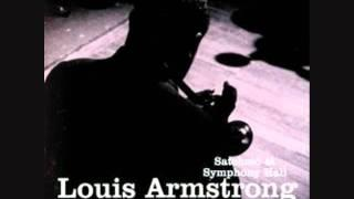 Louis Armstrong And The All Stars - On The Sunny Side Of The Street (Live) 1947